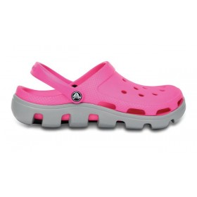 Crocs Duet Sport Clog Rose Grey женские
