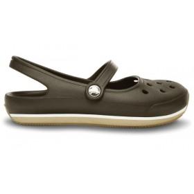 Crocs Flats Khaki Beige женские