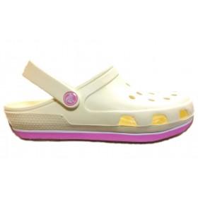 Crocs Duet Sport Clog New Milk Pink женские