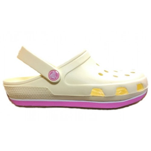 Crocs Duet Sport Clog New Milk Pink женские
