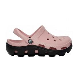 Crocs Duet Sport Clog Pink Black женские