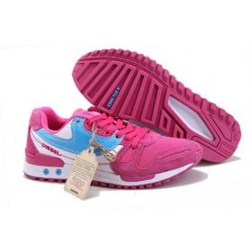 Женские кроссовки Diesel (Дизель) Pink