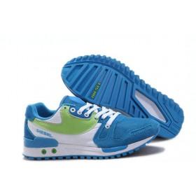 Женские кроссовки Diesel (Дизель) White Blue