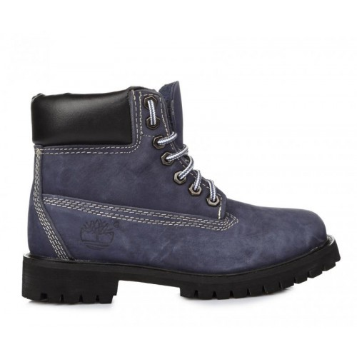 Timberland 6 inch Blue W женские ботинки