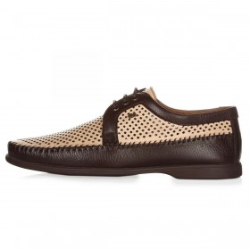 Geronimo Shoes Brown мужские мокасины