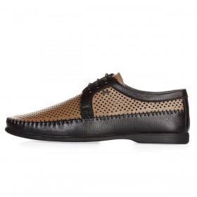 Geronimo Shoes Black мужские мокасины