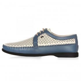 Geronimo Shoes Blue мужские мокасины
