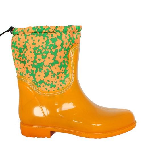 Женские резиновые сапоги Valex Orange Green