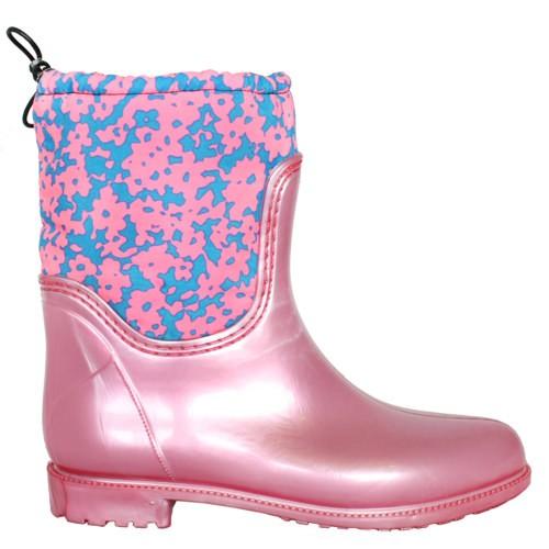 Женские резиновые сапоги Valex Pink Blue