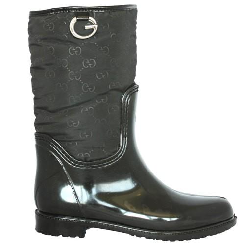Женские резиновые сапоги Valex Gucci Black