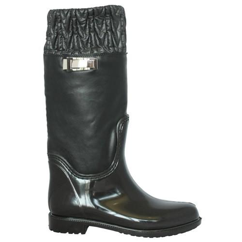 Женские резиновые сапоги Valex Comfort Black
