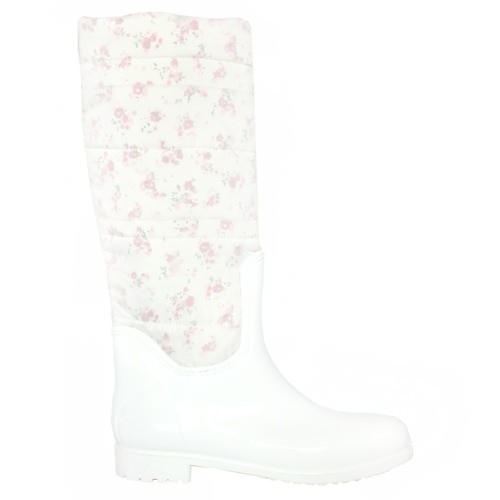 Женские резиновые сапоги Valex White Flowers