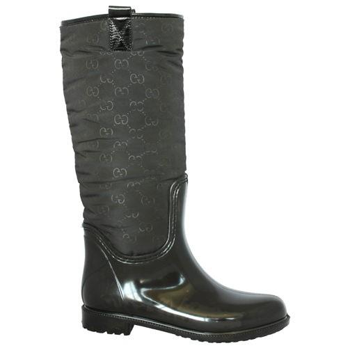 Женские резиновые сапоги Valex Gucci 2 Black
