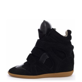 Сникерсы Isabel Marant (Изабель Марант) Black Sneakers