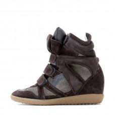 Сникерсы Isabel Marant (Изабель Марант) Anthracite Sneakers