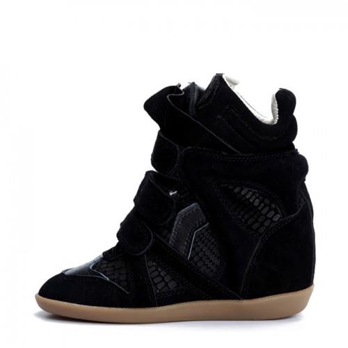 Сникерсы Isabel Marant (Изабель Марант) Black Snake Sneakers
