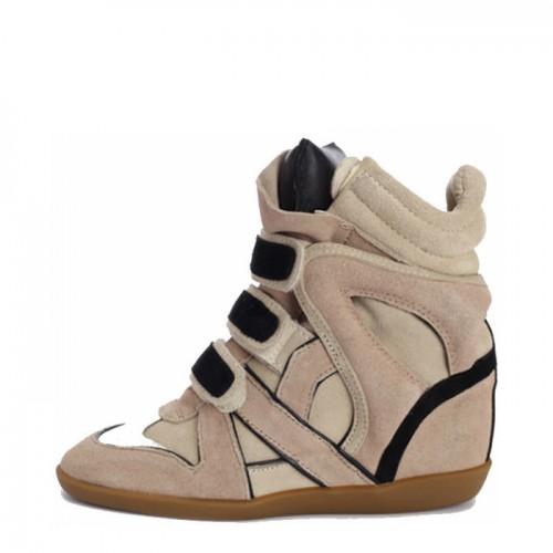 Сникерсы Isabel Marant (Изабель Марант) Black Top Sneakers