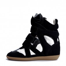 Сникерсы Isabel Marant (Изабель Марант) Black White Sneakers