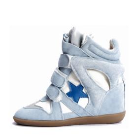 Сникерсы Isabel Marant (Изабель Марант) Blue Star Sneakers