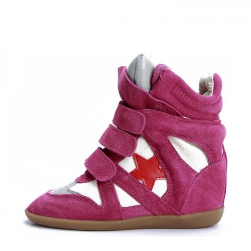 Сникерсы Isabel Marant (Изабель Марант) Cherry Star Sneakers
