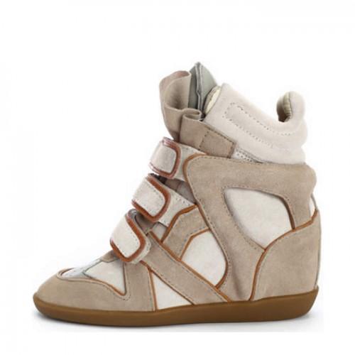 Сникерсы Isabel Marant (Изабель Марант) Orange Stripe Sneakers