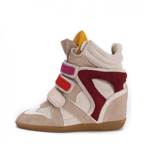 Сникерсы Isabel Marant (Изабель Марант) Orange Top Sneakers