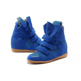 Сникерсы Isabel Marant (Изабель Марант) Copy High-Top Navy Sneakers