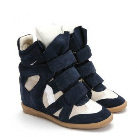Сникерсы Isabel Marant (Изабель Марант) Copy High-Top Blue White Sneakers