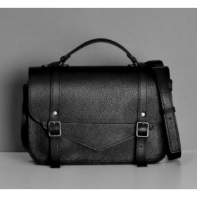 Jizuz College Satchel Black