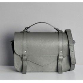 Jizuz College Satchel Dark Grey