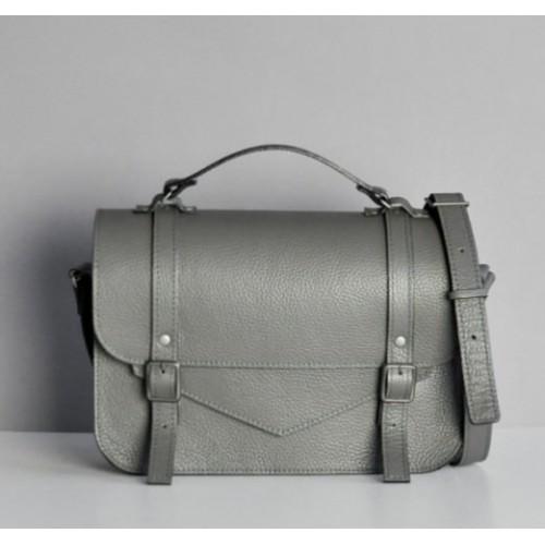Jizuz College Satchel Dark Grey женский портфель