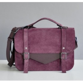 Jizuz College Satchel Wine