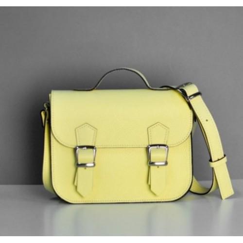 Jizuz Satchel Mini Yellow женский портфель