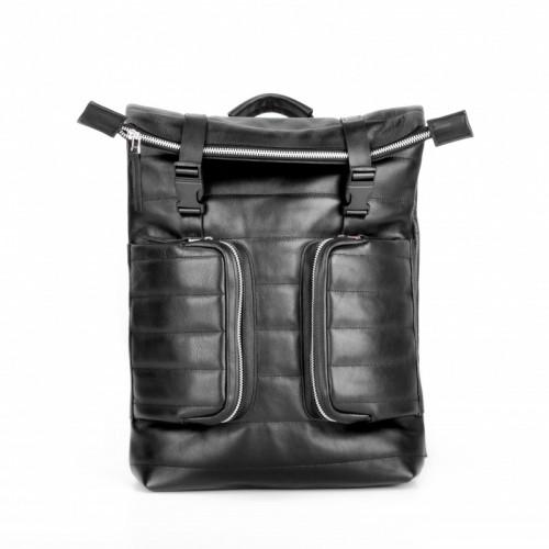 Jizuz Motto Black (гладкий) мужской рюкзак