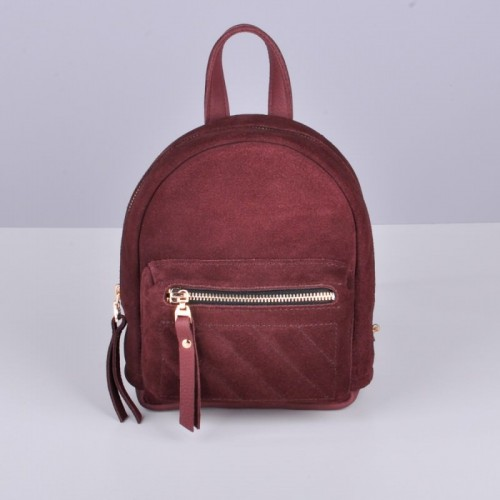 Jizuz Baby Sport Soft Wine Velour женский рюкзак