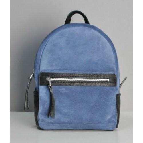 Jizuz Sport Blue Suede женский рюкзак