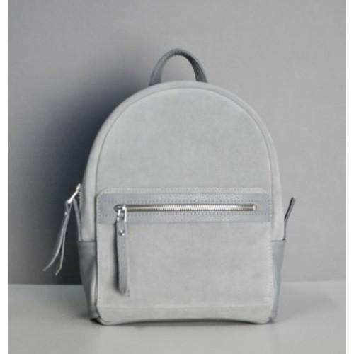 Jizuz Sport Grey Suede женский рюкзак