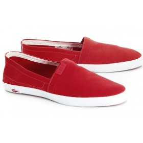Слипоны Lacoste Sundaze Red