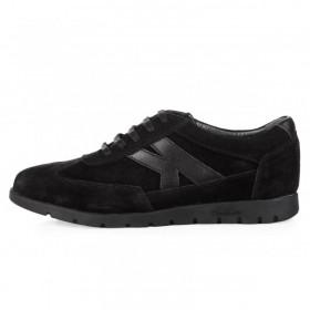 King Paolo Sneakers Black мужская ортопедическая обувь