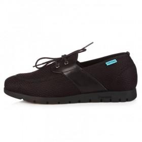 King Paolo Comforevo Moccasins Black мужская ортопедическая обувь