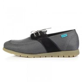 King Paolo Comforevo Moccasins Grey мужская ортопедическая обувь