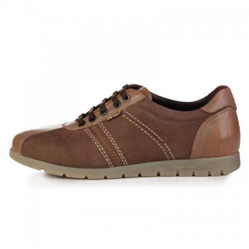 King Paolo Classic Brown мужская ортопедическая обувь