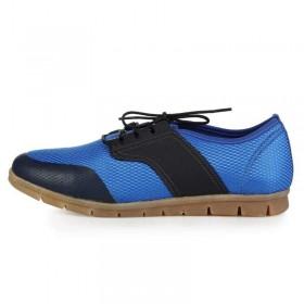 King Paolo Comforevo Style Navy Blue мужская ортопедическая обувь