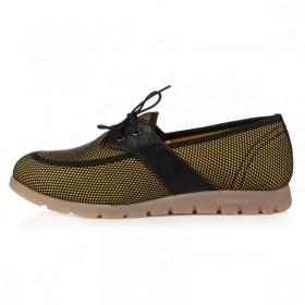 King Paolo Comforevo Classic Yellow женская ортопедическая обувь