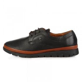 King Paolo Clima Comfort Black женская ортопедическая обувь