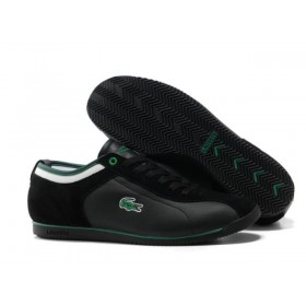 Lacoste Seed Casual Black Green мужские кроссовки