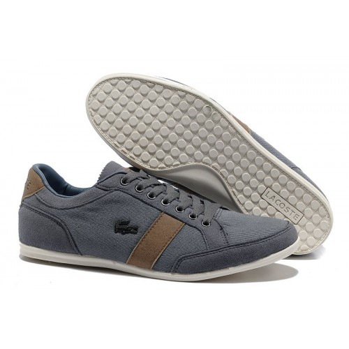 Lacoste Seed Casual Grey мужские кроссовки