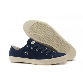 Lacoste Seed Casual Blue Canvas