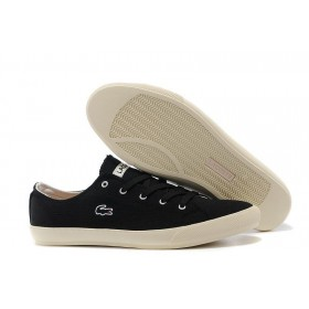 Lacoste Seed Casual Black Canvas