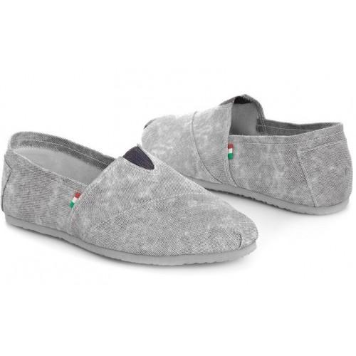 Эспадрильи мужские Las Espadrillas New Classic Wash Grey